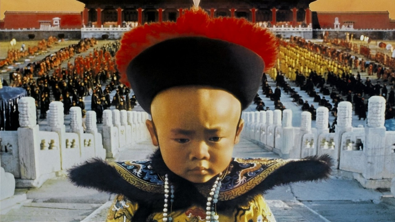Puyi (Richard Vuu), the three-year-old Chinese Emperor in Bernardo Bertolucci's  The Last Emperor  (1987).