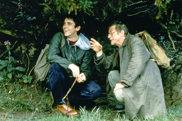 John Hurt and Christian Bale.