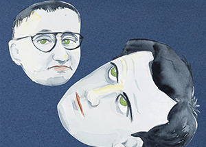 Zoe Beloff's  A World Redrawn: Eisenstein and Brecht in Hollywood