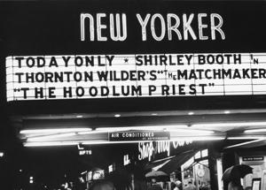 Dan Talbot's New Yorker Films