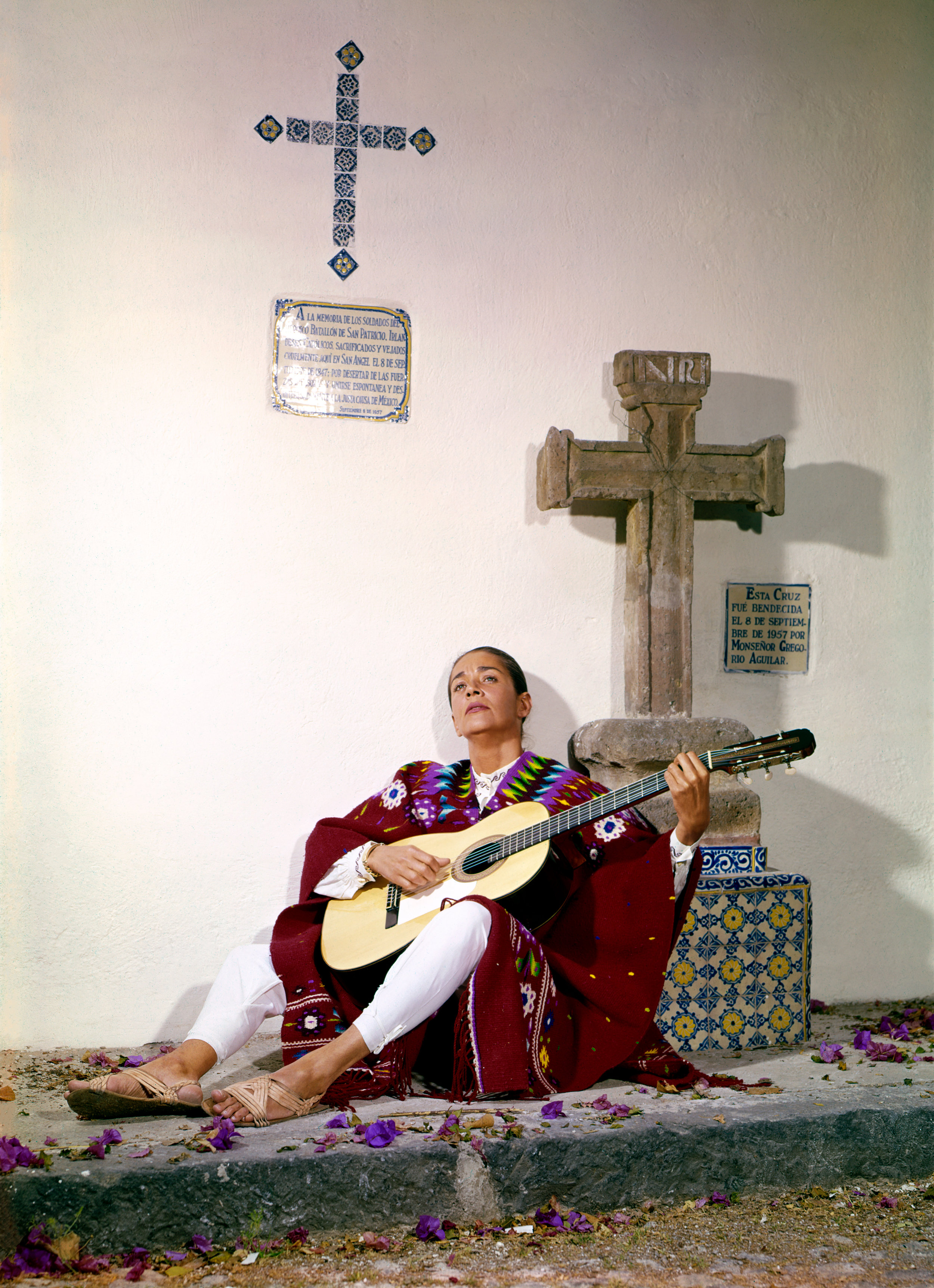 A young Chavela Vargas in Mexico.