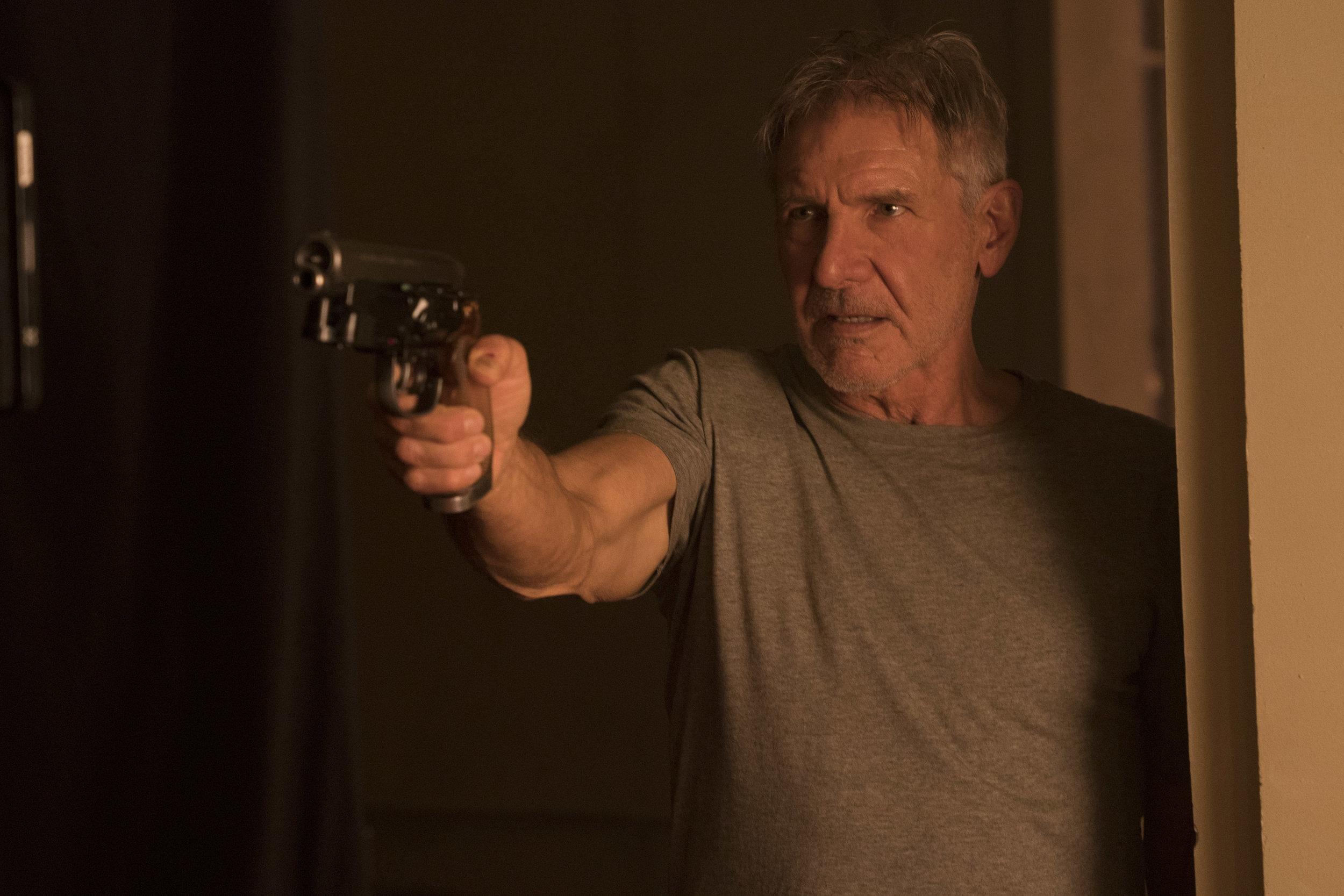 Harrison Ford reprises his role as blade runner Rick Deckard.