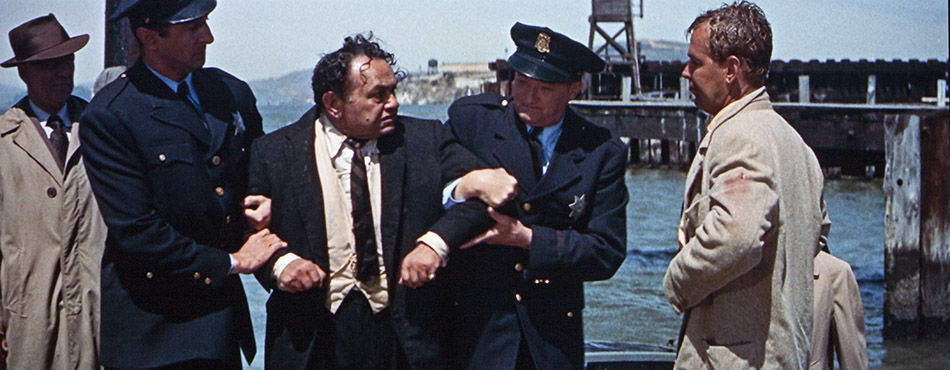 The final speedboat chase is at once a climax to the crime narrative and a rite of purification as Rollins gets his man  and his wife.