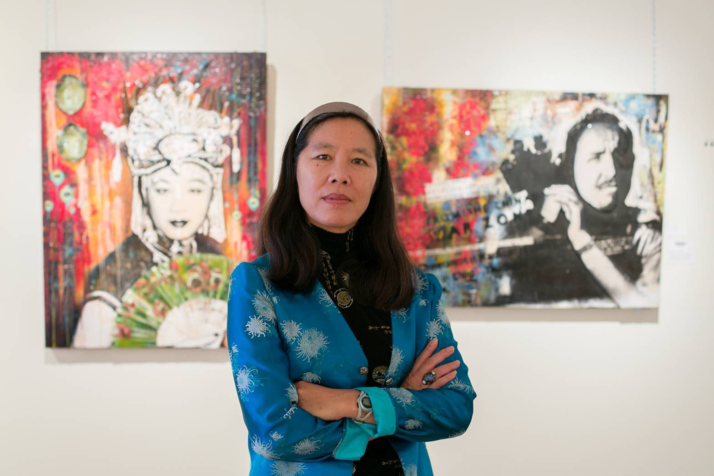 Filmmaker Robin Lung, who found  Kukan  and restored credit to its producer, Li Ling-Ai.