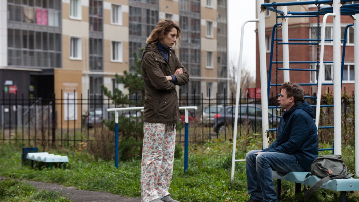 Social and familial dysfunctions parallel in Boris Khlebikov's  Arrhythmia , the story of two medical workers' troubled marriage.