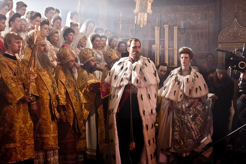 Religious protests and a firebombing preceded the release of  Mathilde , a lushly designed melodrama about the affair between future Czar Nicholas II and a ballerina.