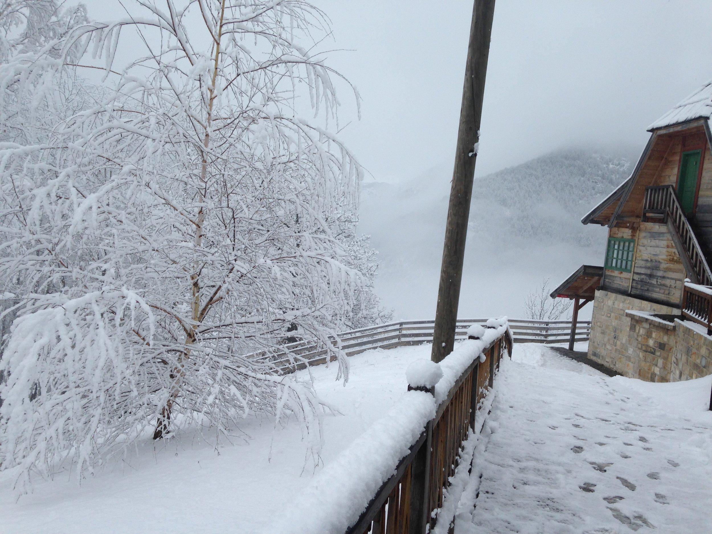 Küstendorf, winter 2018.