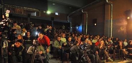 The main festival auditorium.