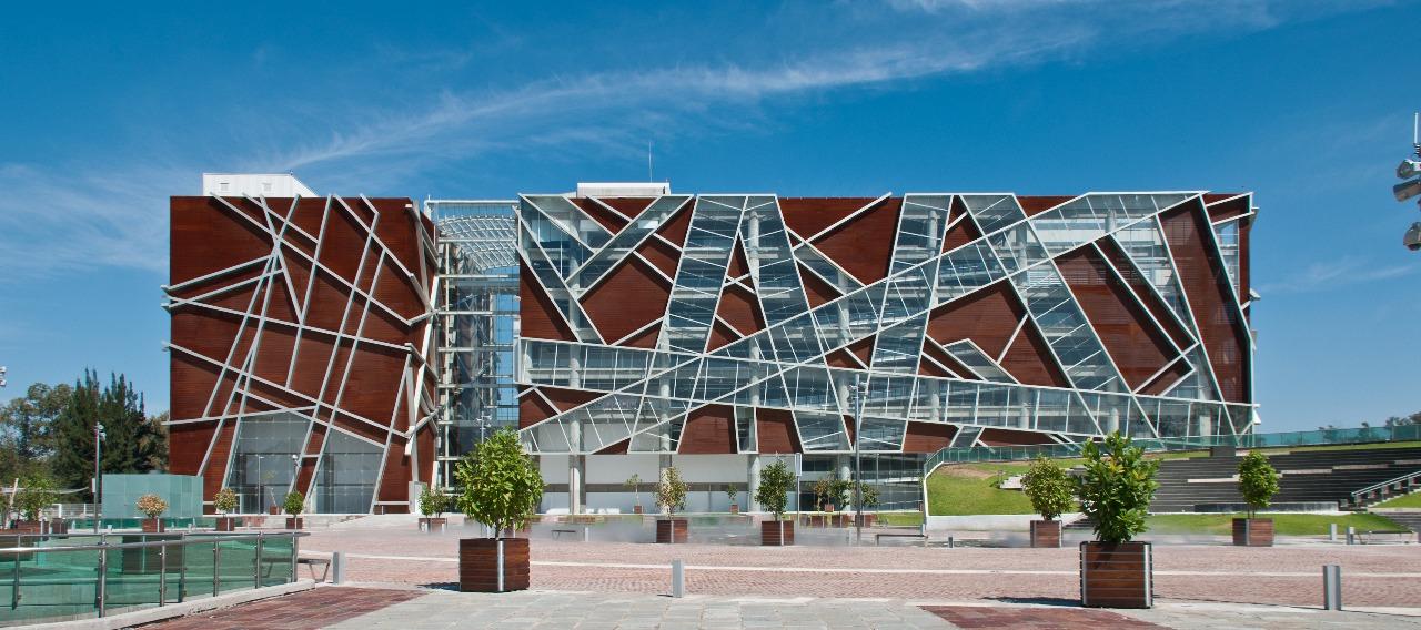 The Juan Jose Arreola Library in the Centro Cultural Universitario, Guadalajara.