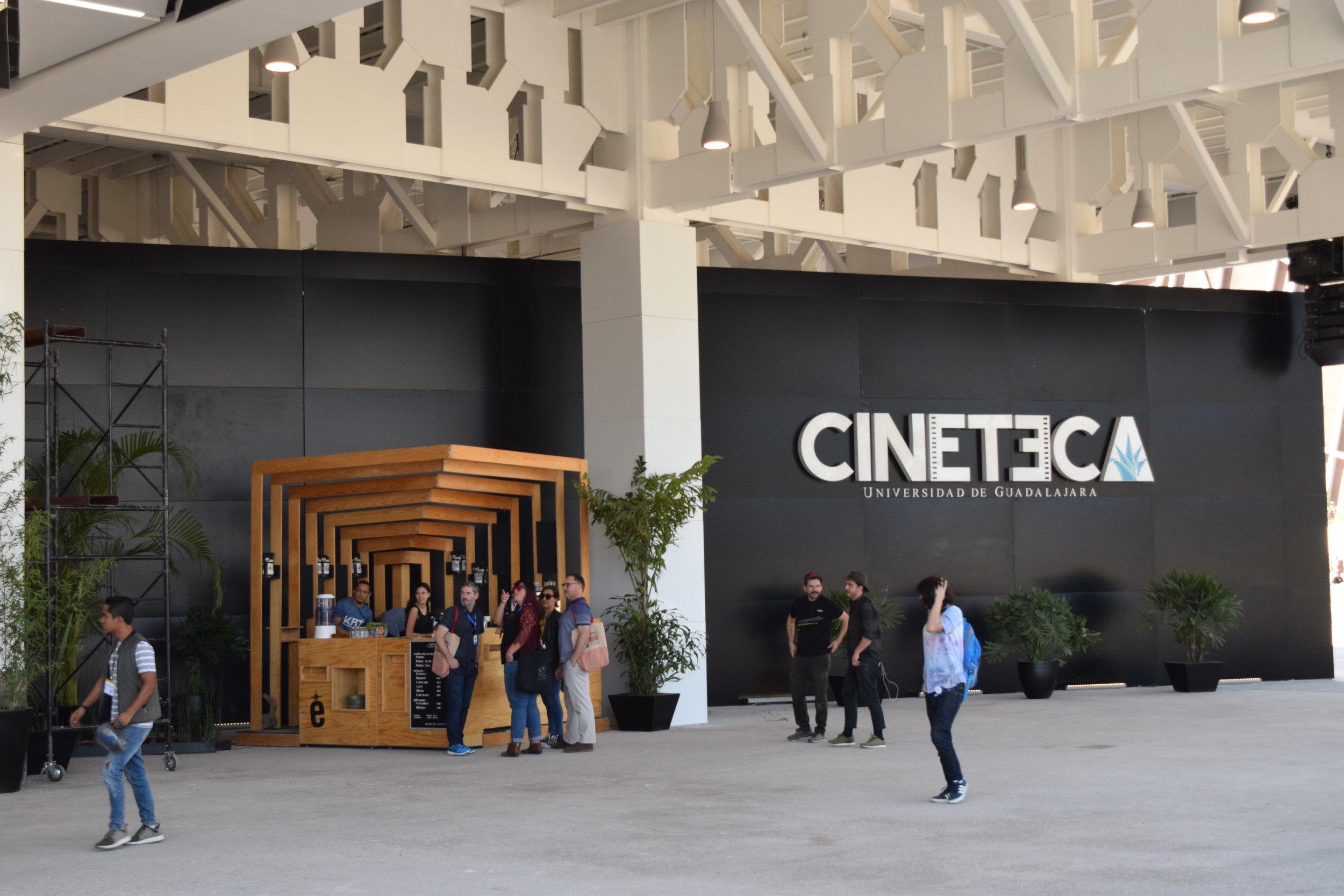 The Cinemateque in the Scenic Arts Complex of the Centro Cultural Universitario, Guadalajara.