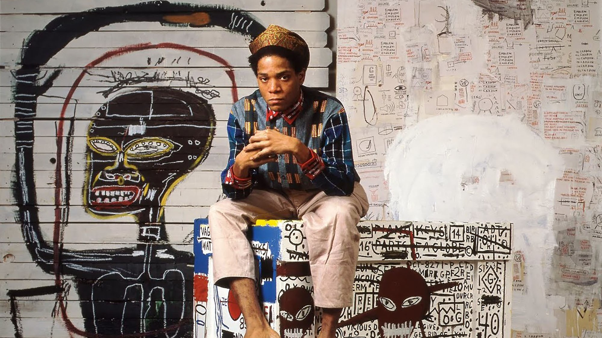 Jean-Michel Basquiat's vertiginous rise to fame forms the subject matter of Sara Driver's  Boom For Real.