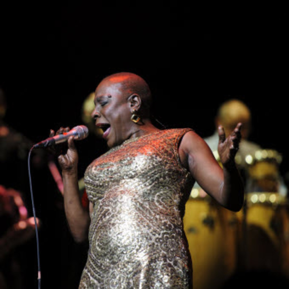 The late Sharon Jones shines center stage in Jeff Broadway and Cory Bailey's  Living on Soul .