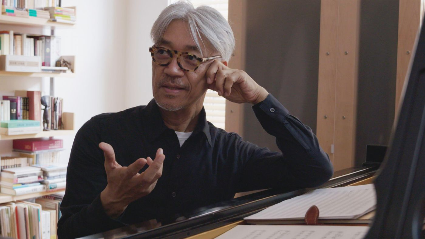Ryuichi Sakamoto grants viewers access to his home studio and working methods in Stephen Nomura Schible's  Ryuichi Sakamoto: Coda.