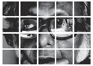 Mrinal Sen in  Montage: Life. Politics. Cinema