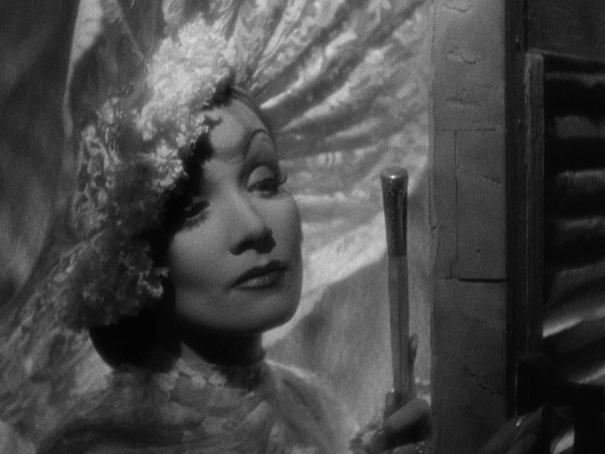 Dietrich in  The Devil Is a Woman .