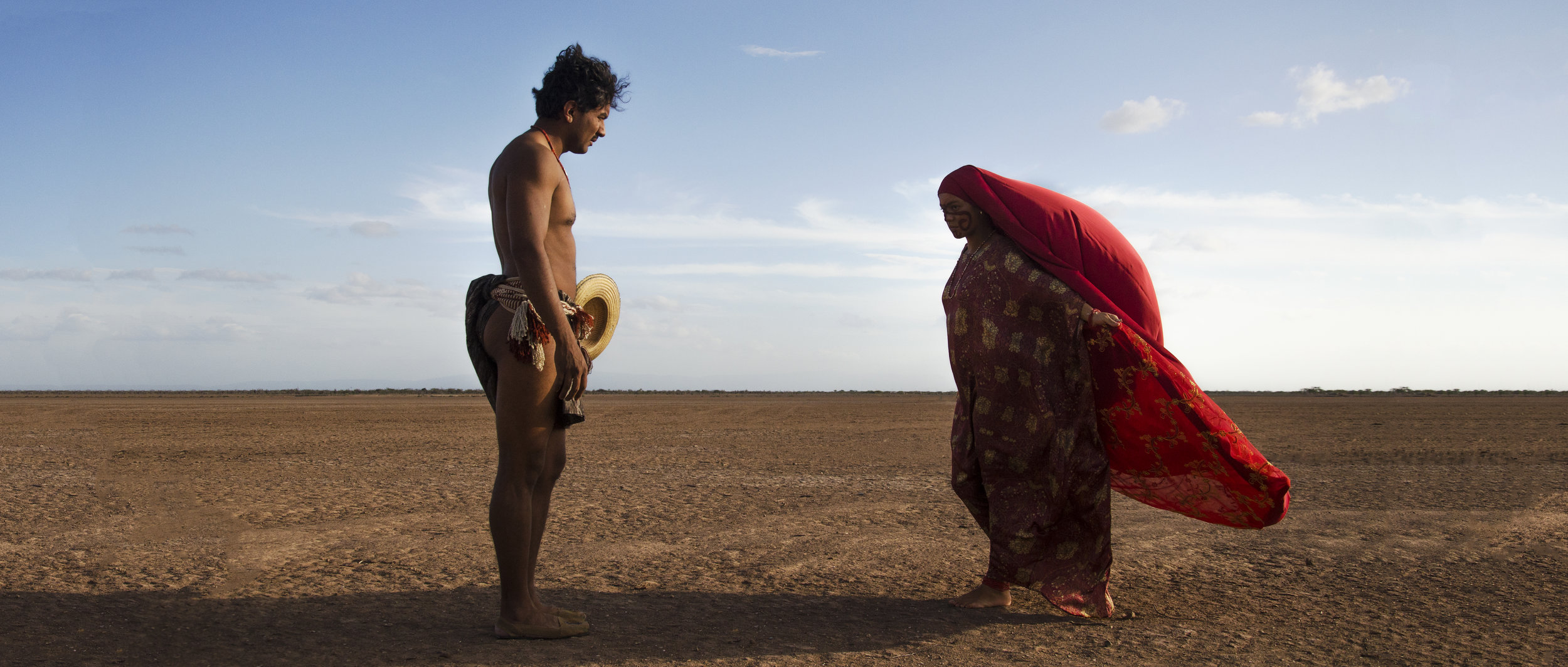 The Wayuu people and landscapes star in  Birds of Passage.
