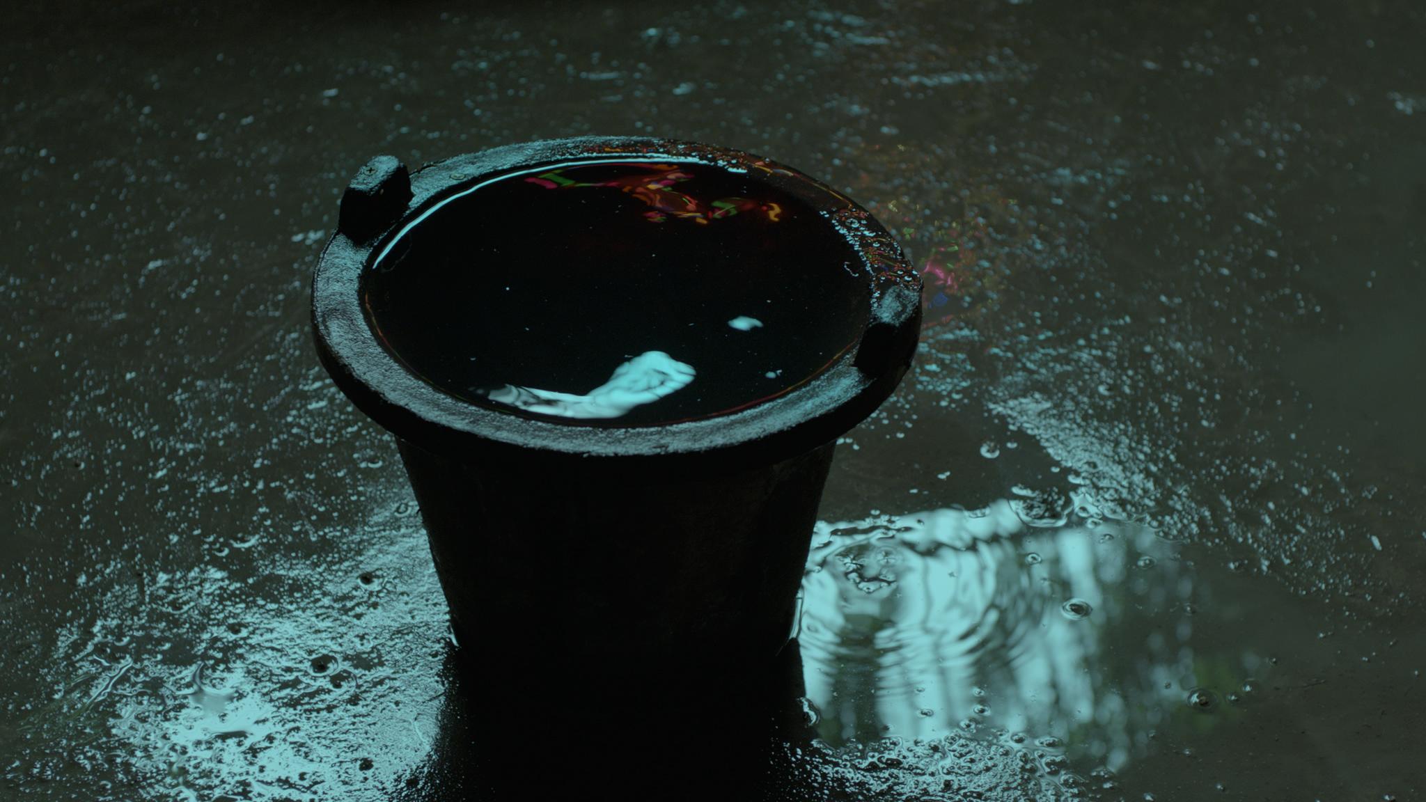 Wei Wei's bucket.