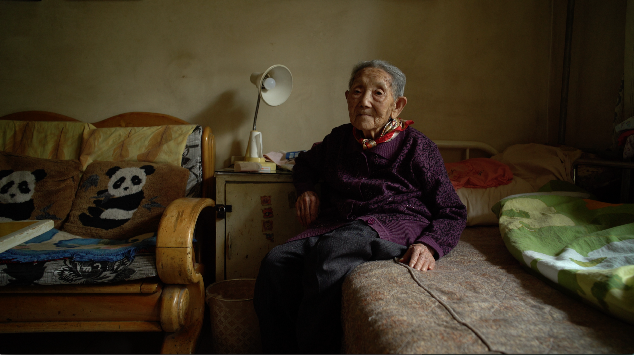 Gao Guifang, 97 years-old.