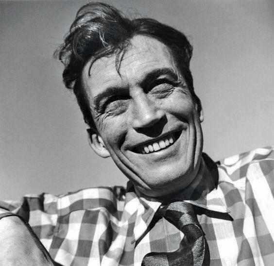Director John Huston.