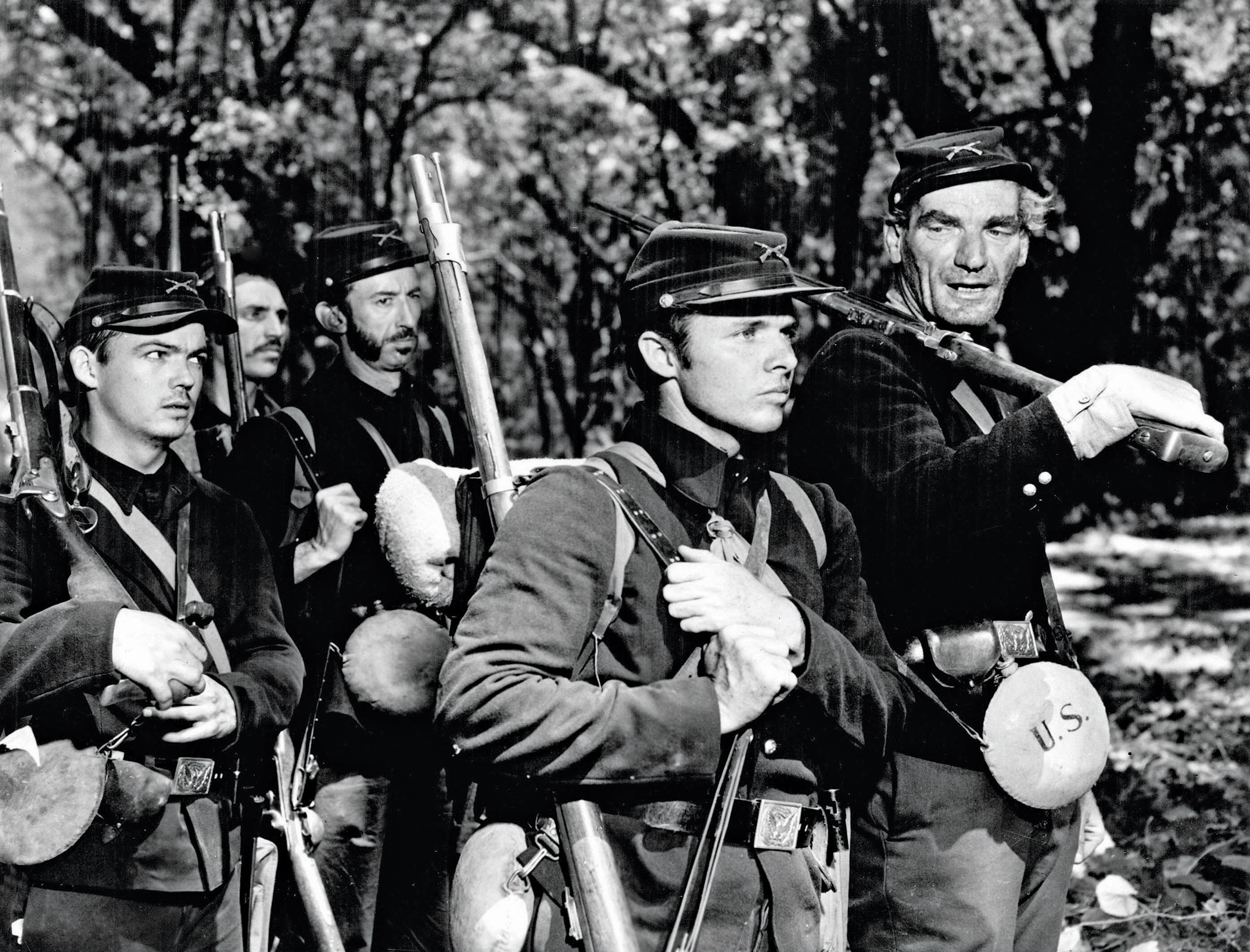 John Huston's  The Red Badge of Courage  (1951).