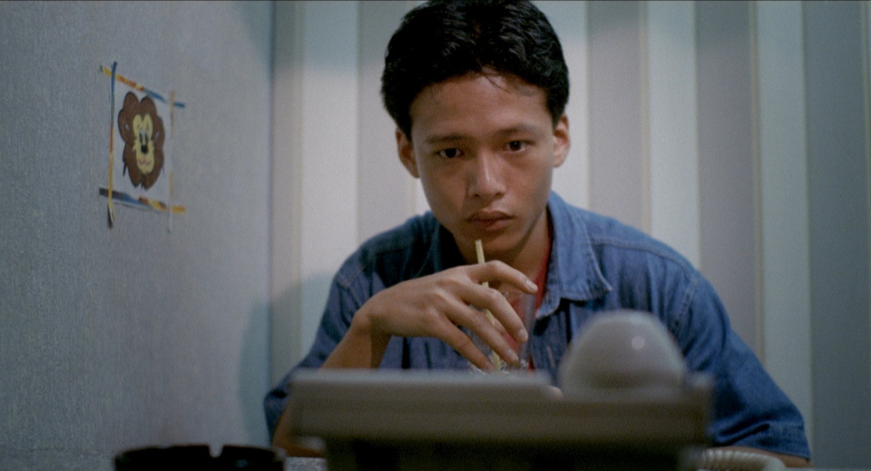A young Lee in  Rebels of the Neon God.