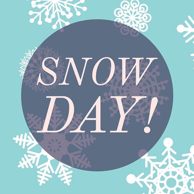 Enjoy the day off from school, everyone! Stay safe and warm. #hawthornhillpreschool #since1995