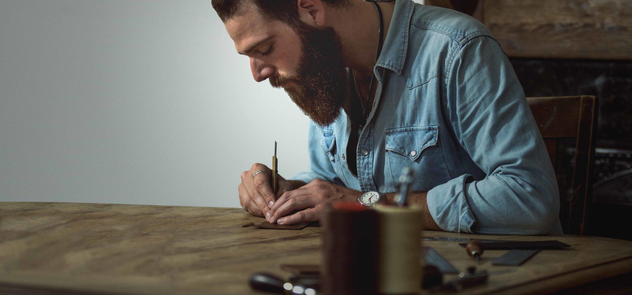 Lockeland Leatherworks Makers Portrait