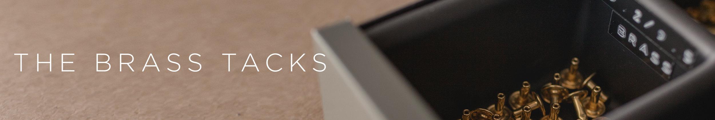 Lockeland Leather Works - Brass Hardware