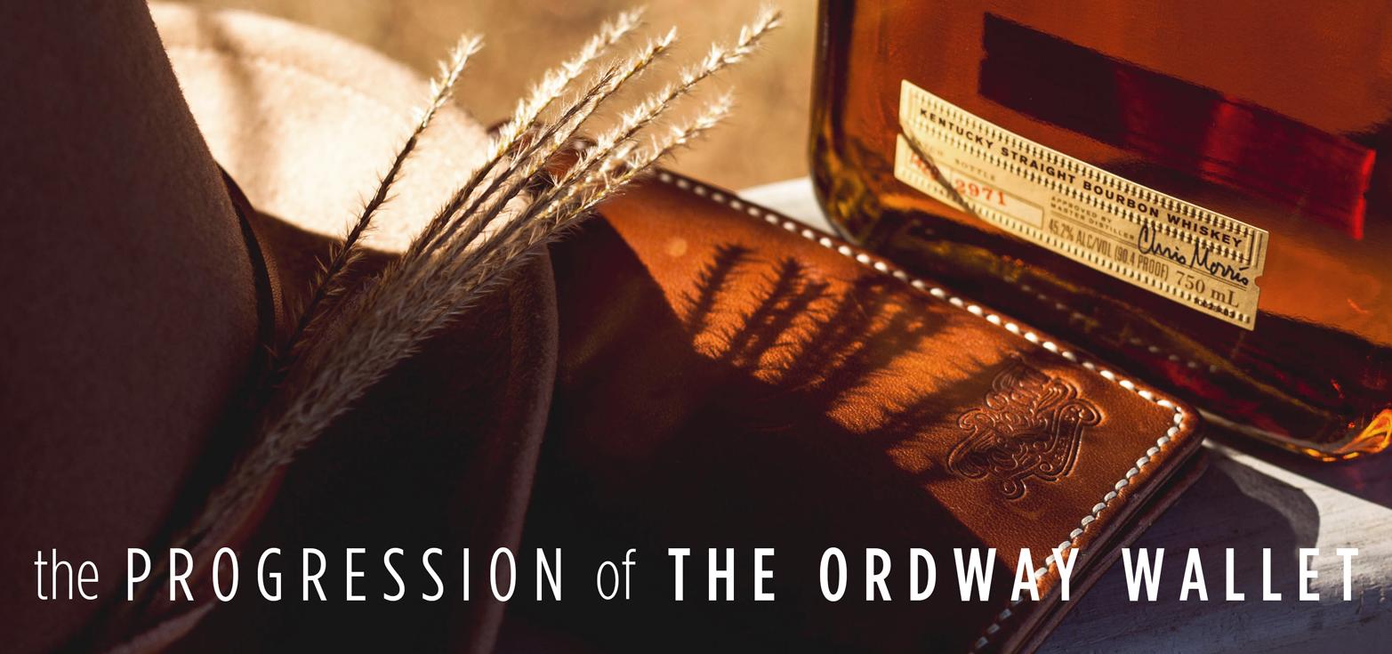 Progression of The Ordway Wallet Slider _ Lockeland Leatherworks