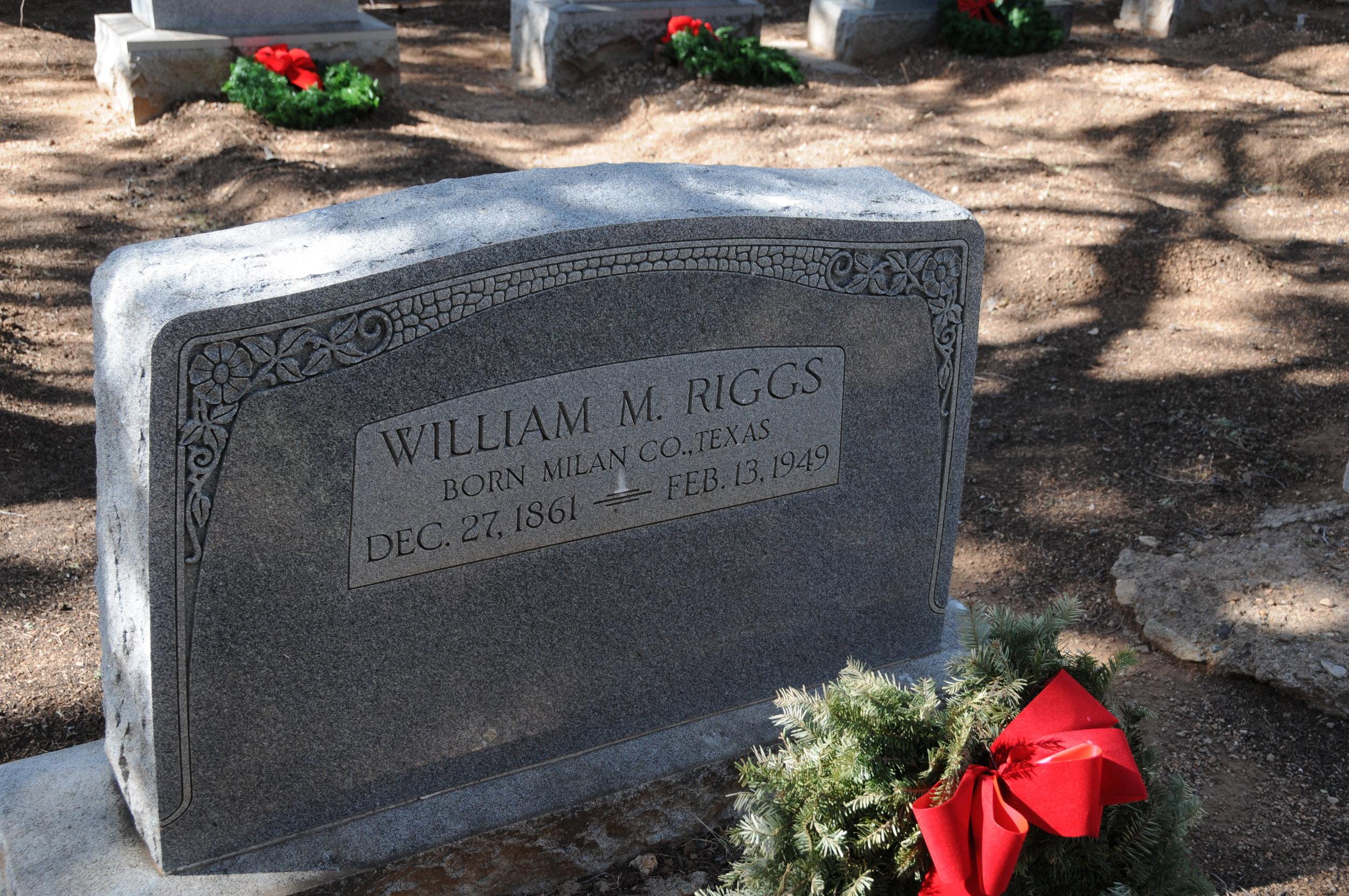 2j WILLIAM MONROE RIGGS