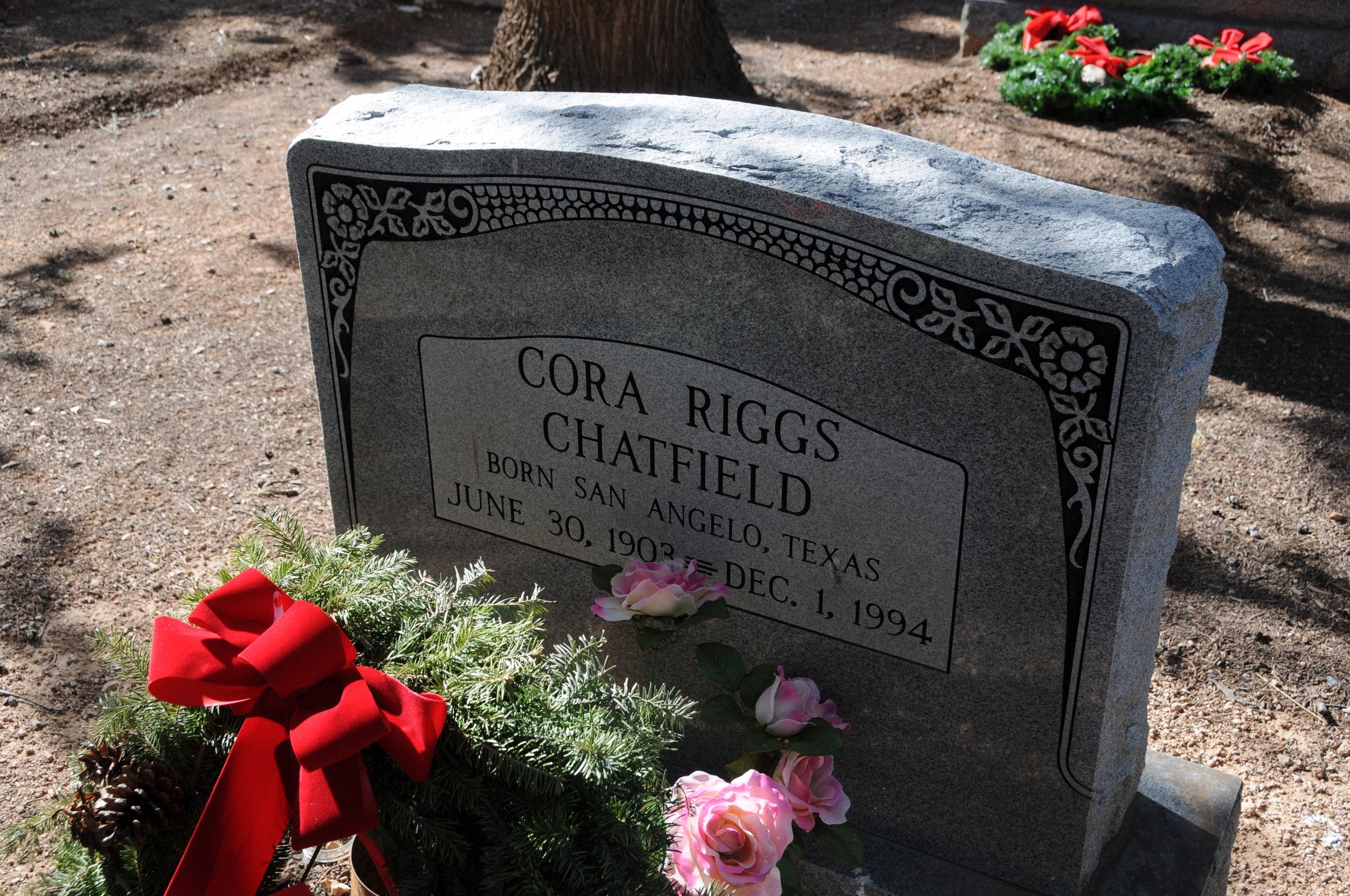 2k CORA (RIGGS) CHATFIELD
