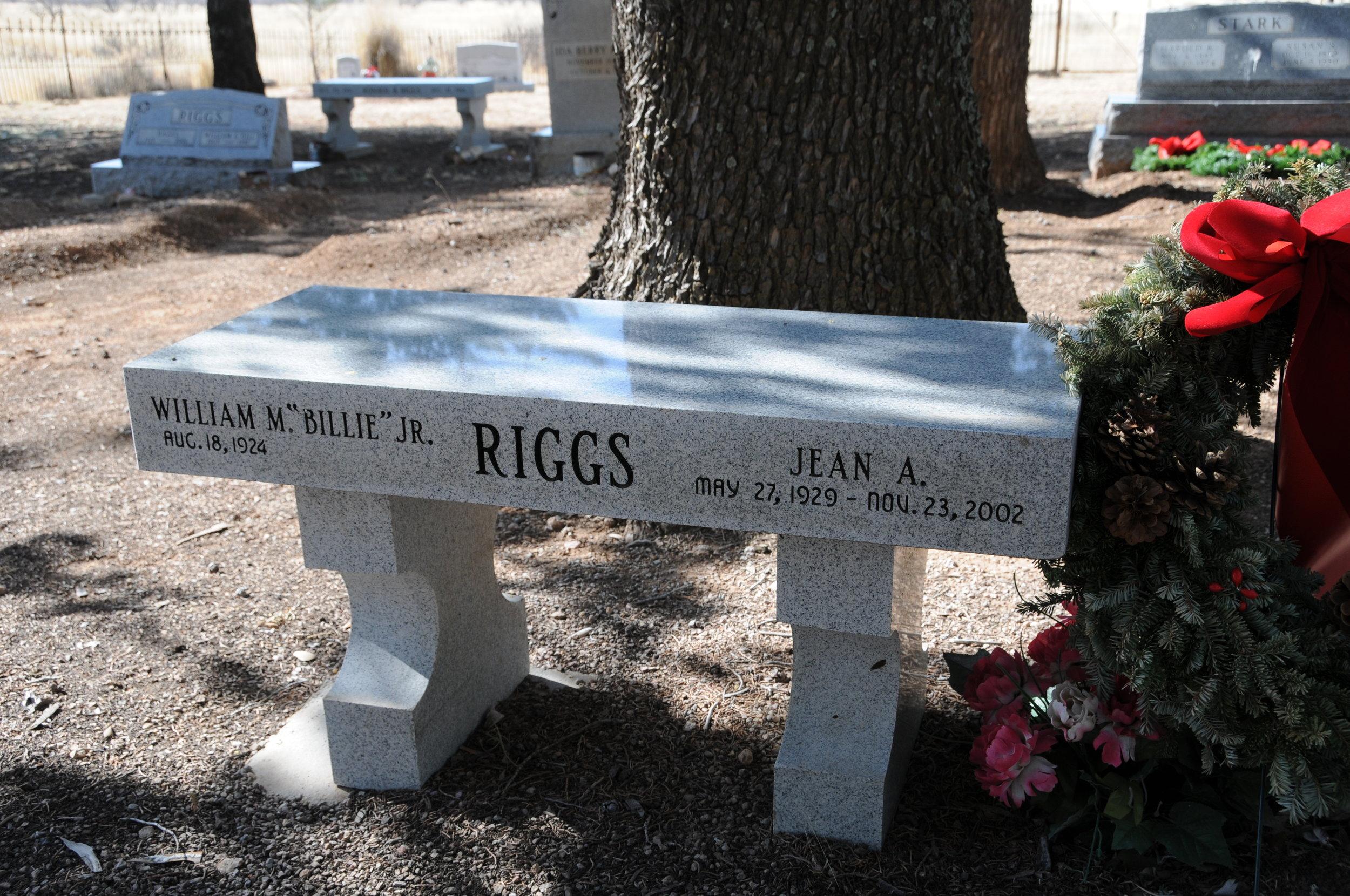 "2l WILLIAM M. ""BILLIE"" & JEAN (AMALONG) RIGGS"