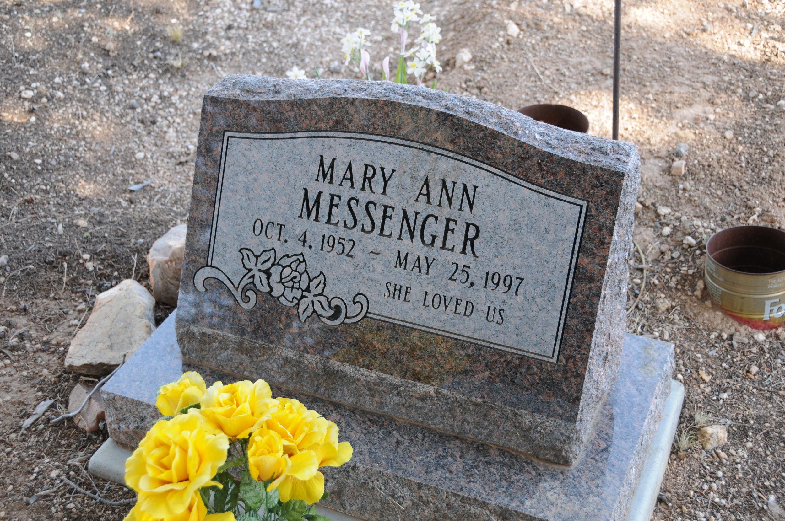 7a MARY ANN (LAMBERSON) MESSENGER
