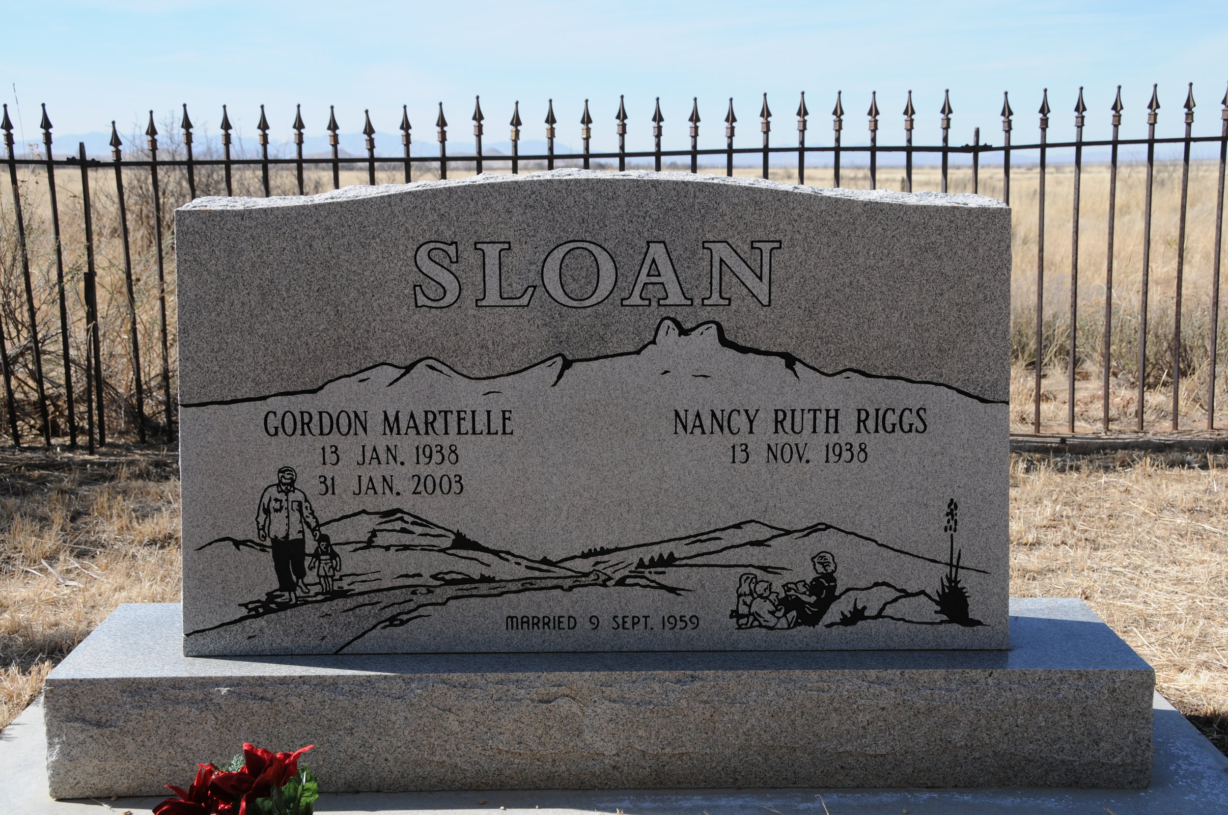 10a GORDON & NANCY (RIGGS) SLOAN