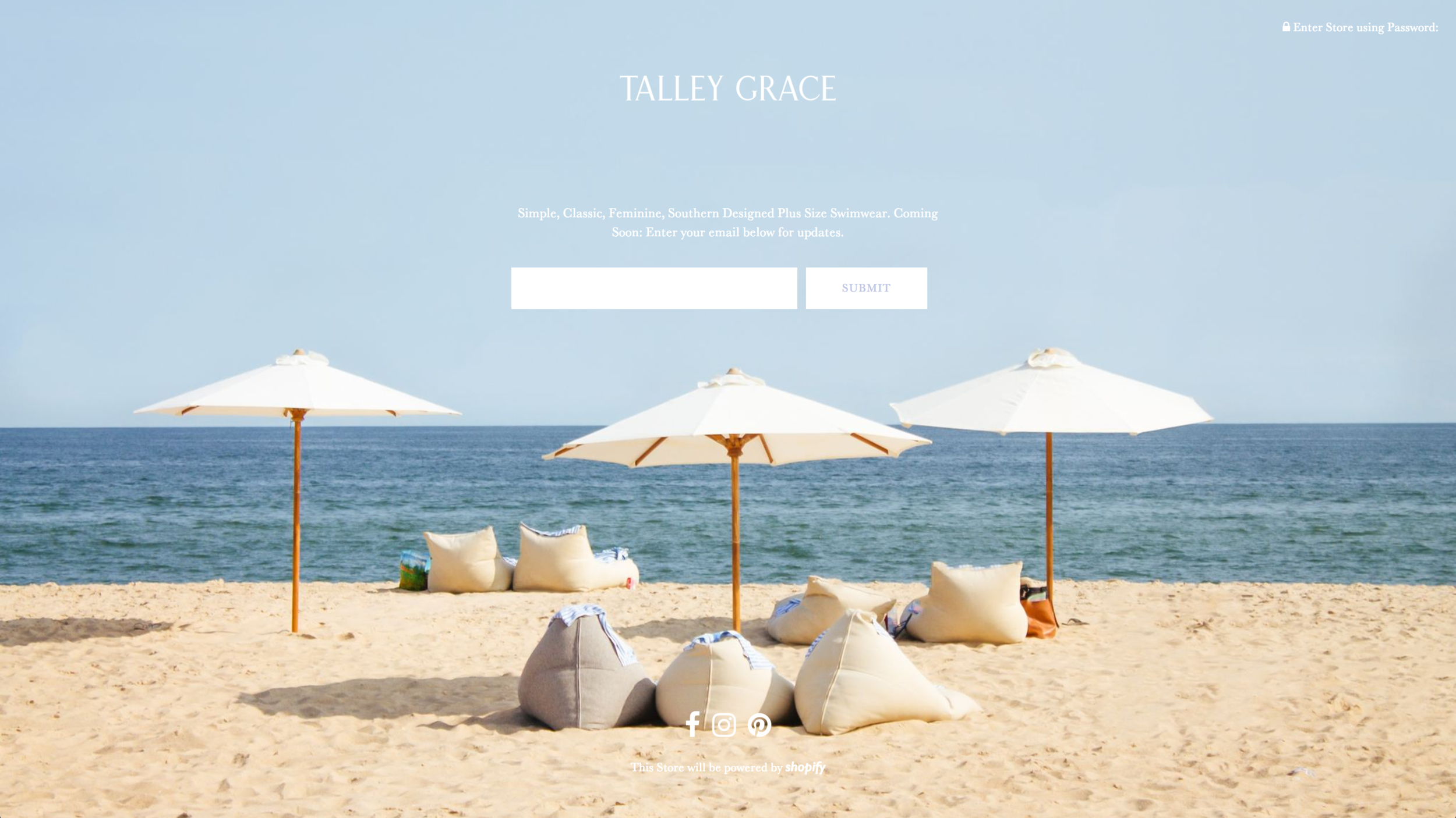 """Hi, I'm Morgan,you're probably wondering what in the world this """"Talley Grace"""" thing is you keep hearing about (the blog is still here, scroll down for some old posts)!  Talley Grace  is my feminine, classic, southern designed plus size swimwear collection coming March 2019. It's my biggest and longest held dream, and it's named after my two little girls. I've been working my tail off and putting it all on the line to make it happen, and I can't wait to share it with everyone. I hope you will join me on the journey and be just as excited as me to see the end result! You can follow along on my  Instagram , which is basically where the blog has gone, it's just my life (fashion & family)and some behind the scenes of the design process in little squares. Join me over there  @talleygraceswim , and click the picture above to go to  the site  and sign up to be the first to know about sneak peeks, presales, launch dates, and giveaways!"""