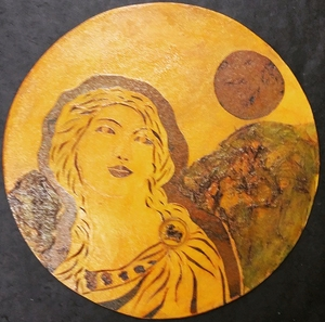 moonlight ladies of Etruscia- Printing plate