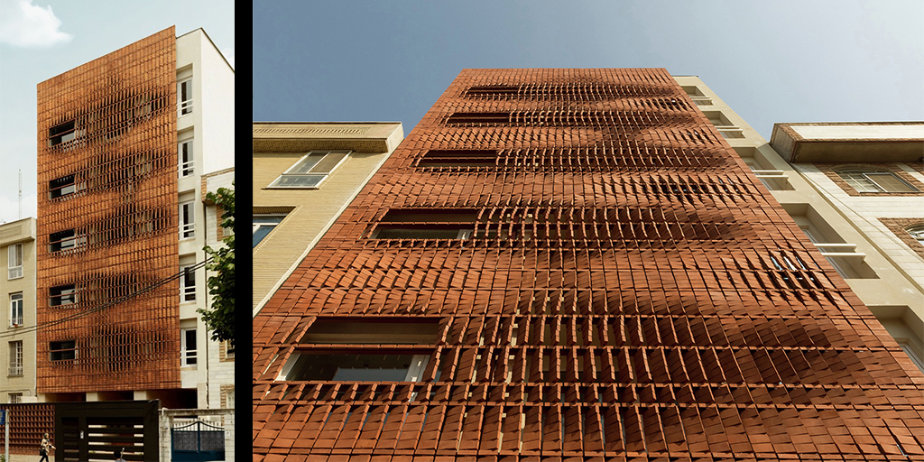 Images courtesy of Archdaily - http://www.archdaily.com/775030/cloaked-in-bricks-admun-design-and-construction-studio