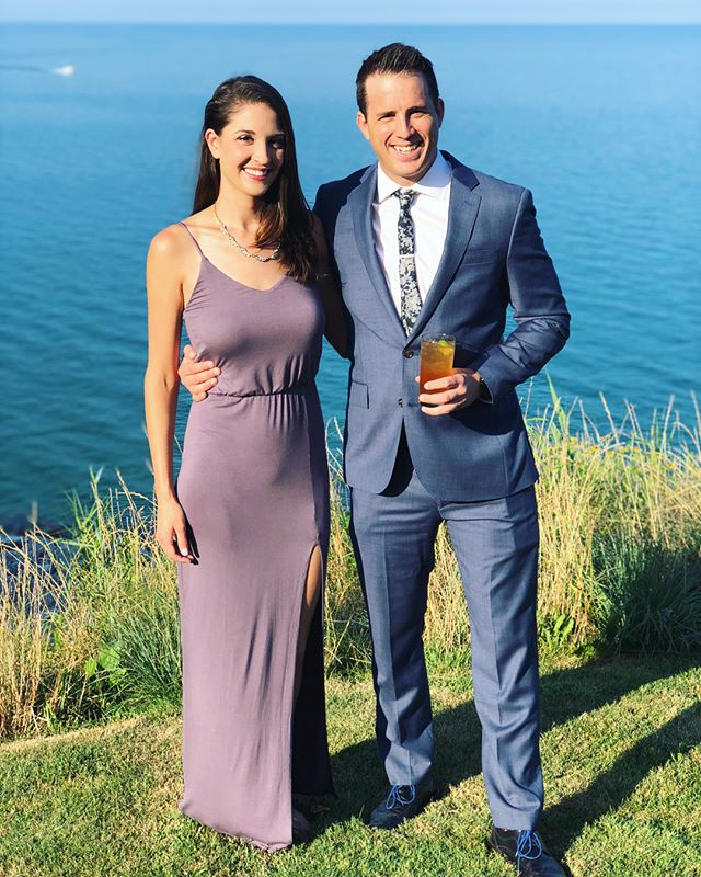 We clean up alright. 💁🏻‍♀️😘 . . . We had such an amazing time at @lmrollls and Kevin's wedding this weekend! Such a beautiful day to celebrate a wonderful couple.  #latergram