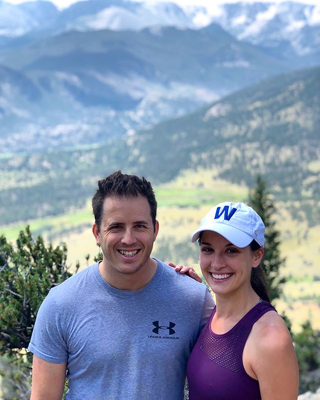 Trailside affections 🏔😘 . . . #werlingweek #rockymountainnationalpark #rmnp #deermountain