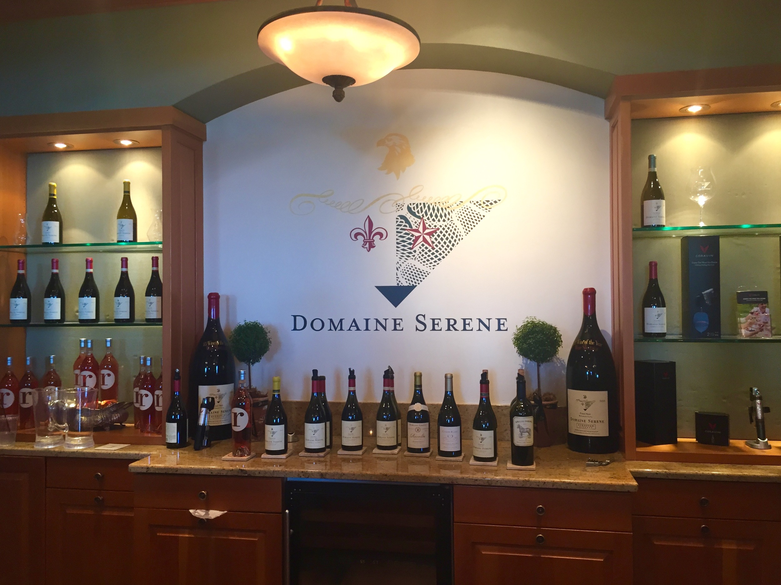 Second stop- Domaine Serene