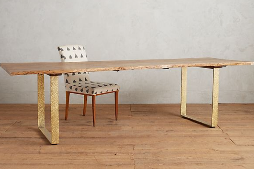Smoked Oak Dining Table - $1,838.40 - Anthropologie