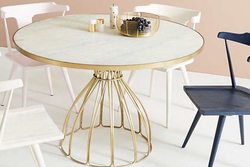 Seaford Pedestal Dining Table - $1,038.40 - Anthropologie