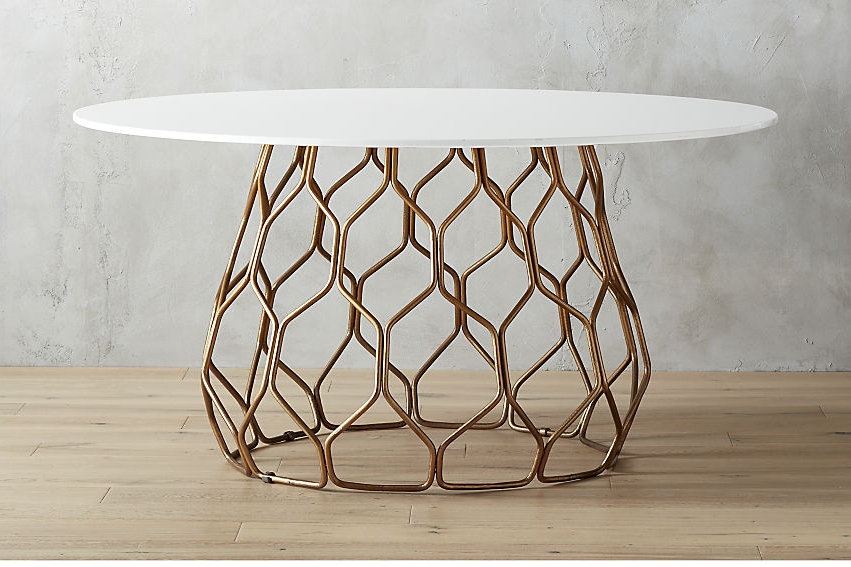Circuit dining table - $1,399 - CB2