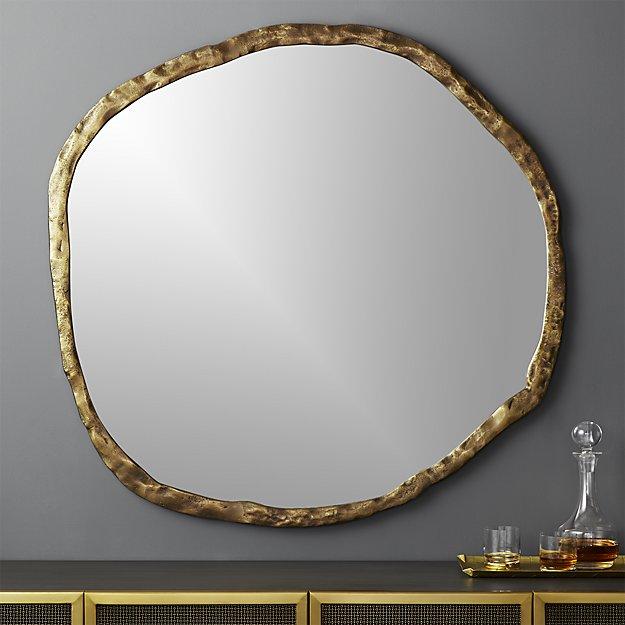 Abel Round Mirror - $499