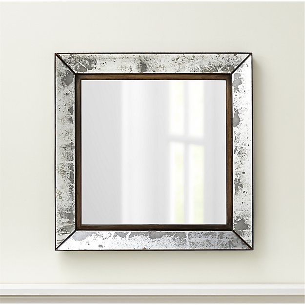 Dubois Large Square Wall Mirror - $199