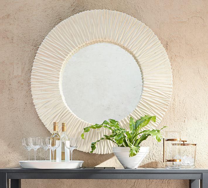 Tulum Round Outdoor Mirror - $299