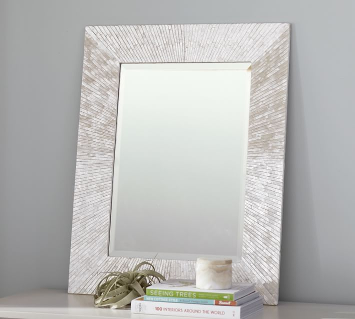 Miranda Capiz Mirror - $349