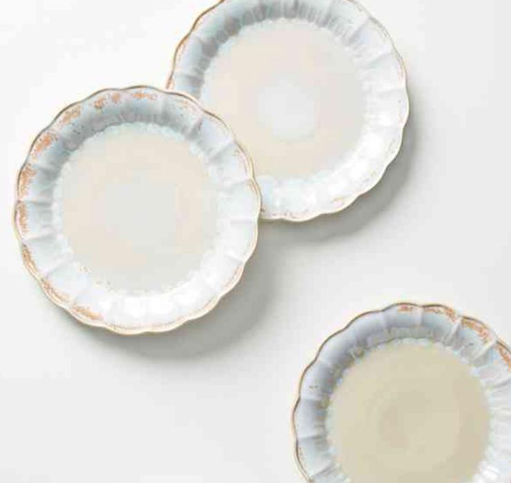 Ariel Dinner Plate - Anthropologie