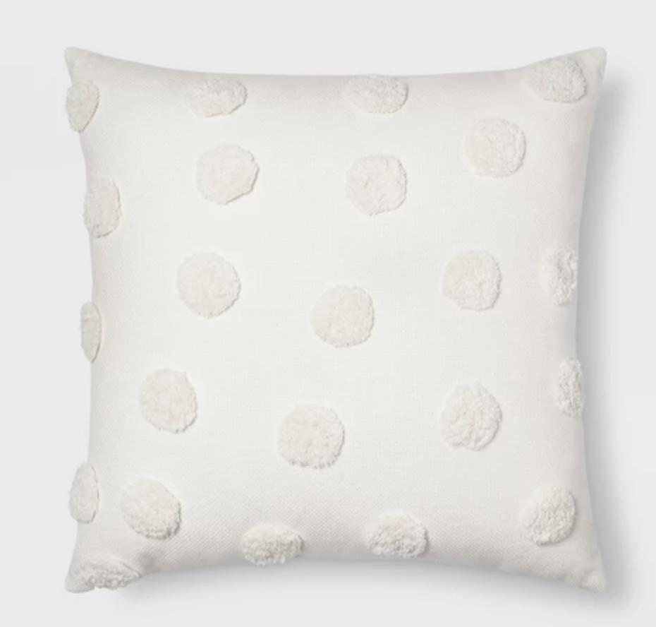 Pom Throw Pillow - $17.99
