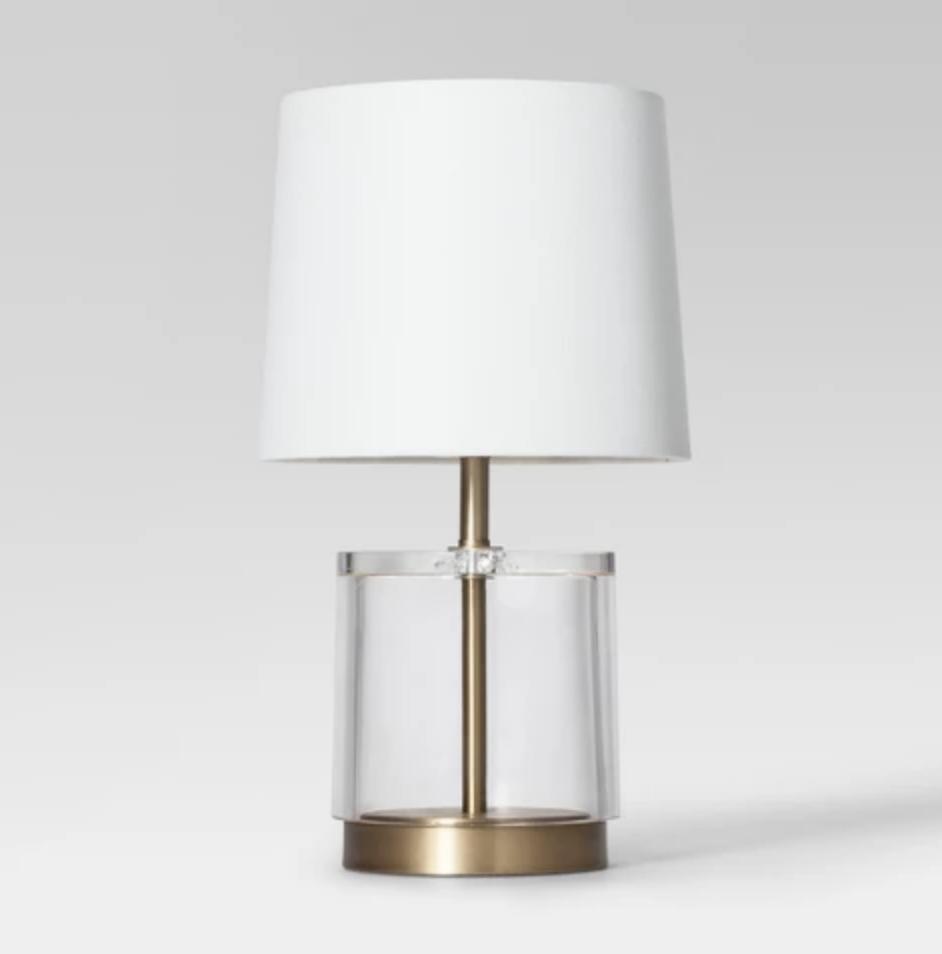 Modern Acrylic Accent Lamp - $39.99